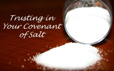 Trusting in Your Covenant of Salt